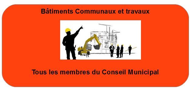 Batiments communaux et travaux